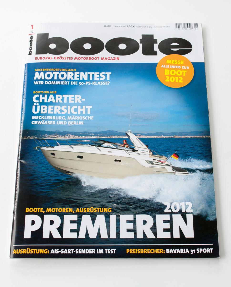 Titel boote-magazin 01/2012