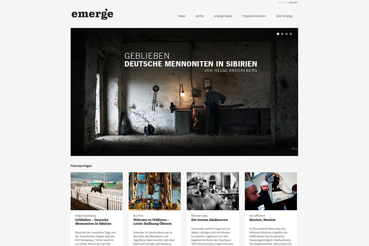 Screenshot emerge-mag.com