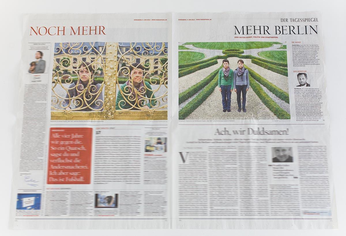 Der Tagesspiegel, Juni 2012